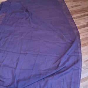 Set of two sheet nylon purple window swags 🔥🔥